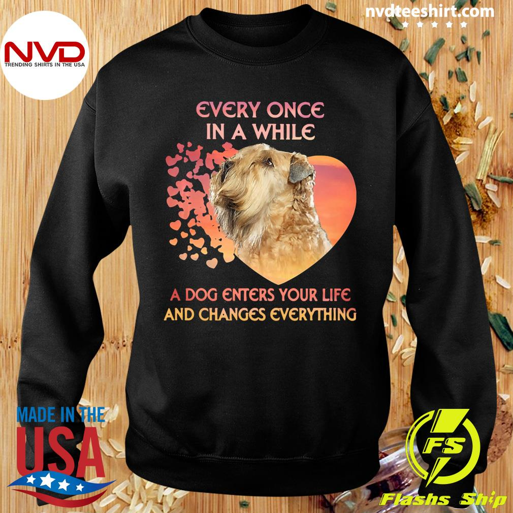 Official Shih Tzu Every Once In A While A Dog Enters Your Life And Changes Everything T-s Sweater