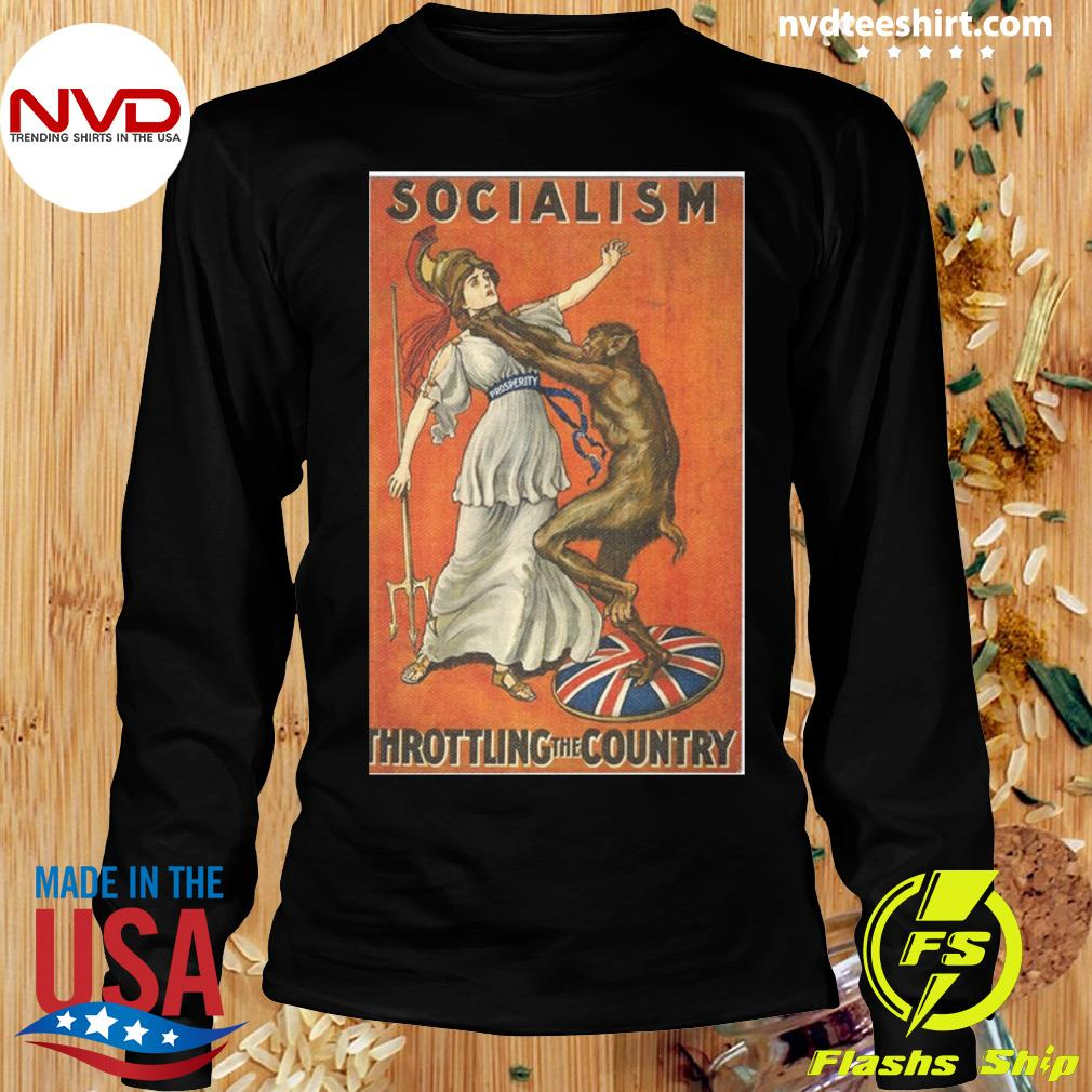 Official Socialism Throttling The Country T-s Longsleeve
