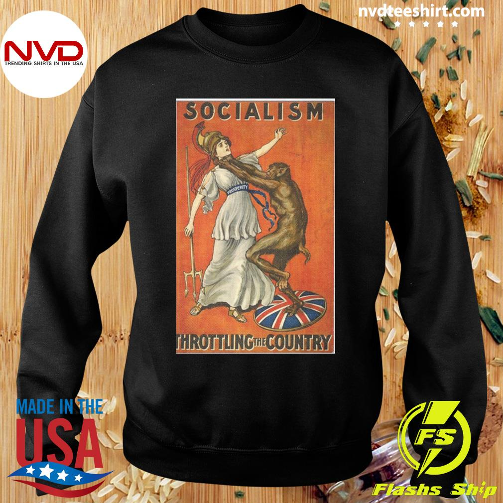 Official Socialism Throttling The Country T-s Sweater