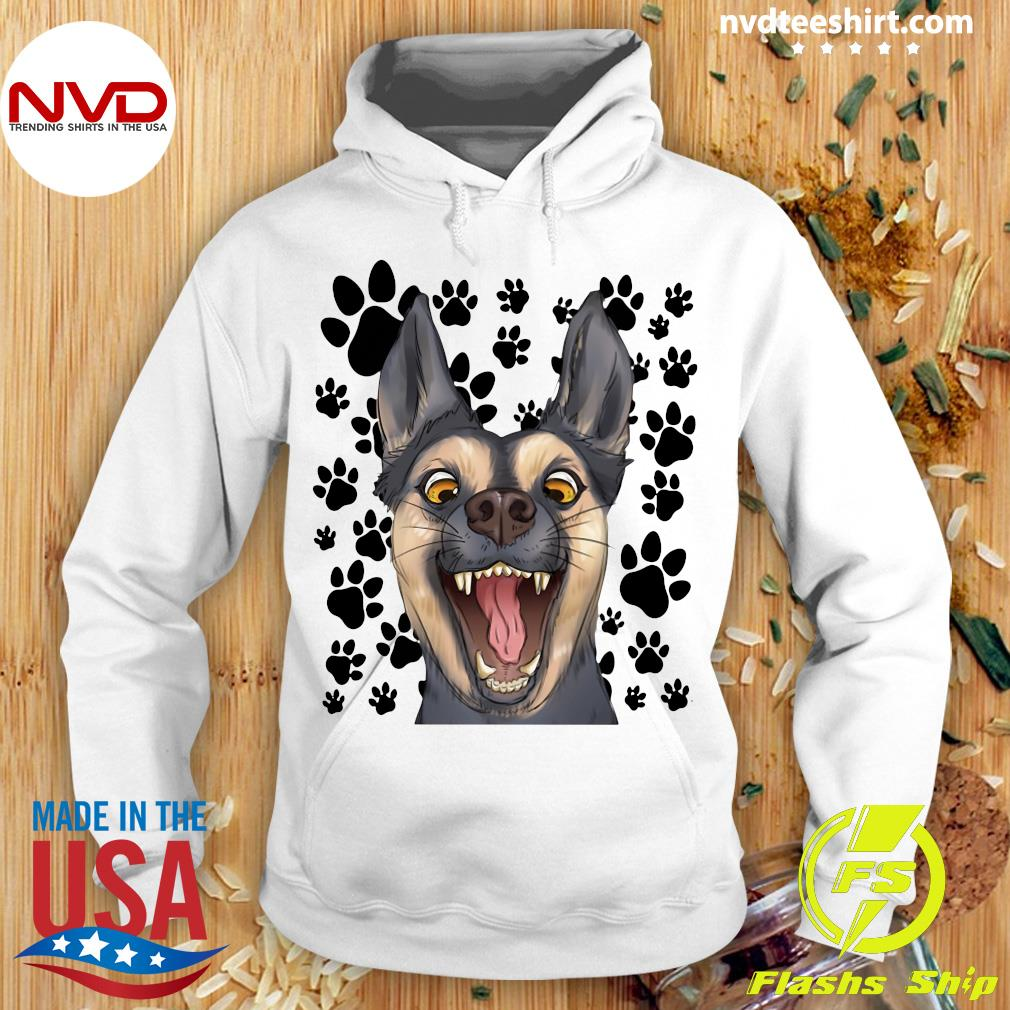 Official The Terrified Dog T-s Hoodie