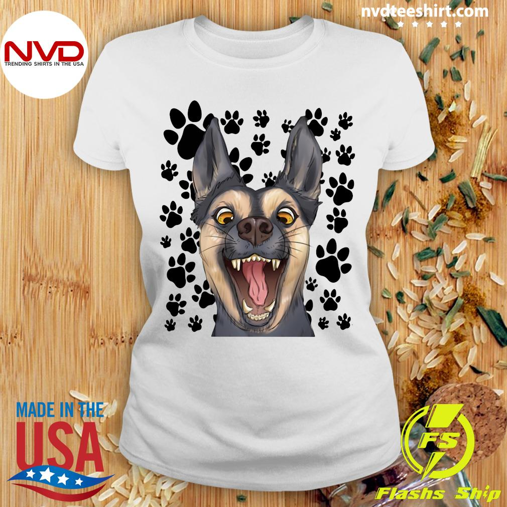 Official The Terrified Dog T-s Ladies tee