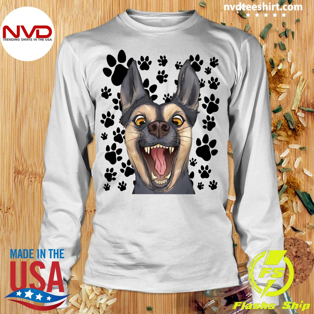 Official The Terrified Dog T-s Longsleeve