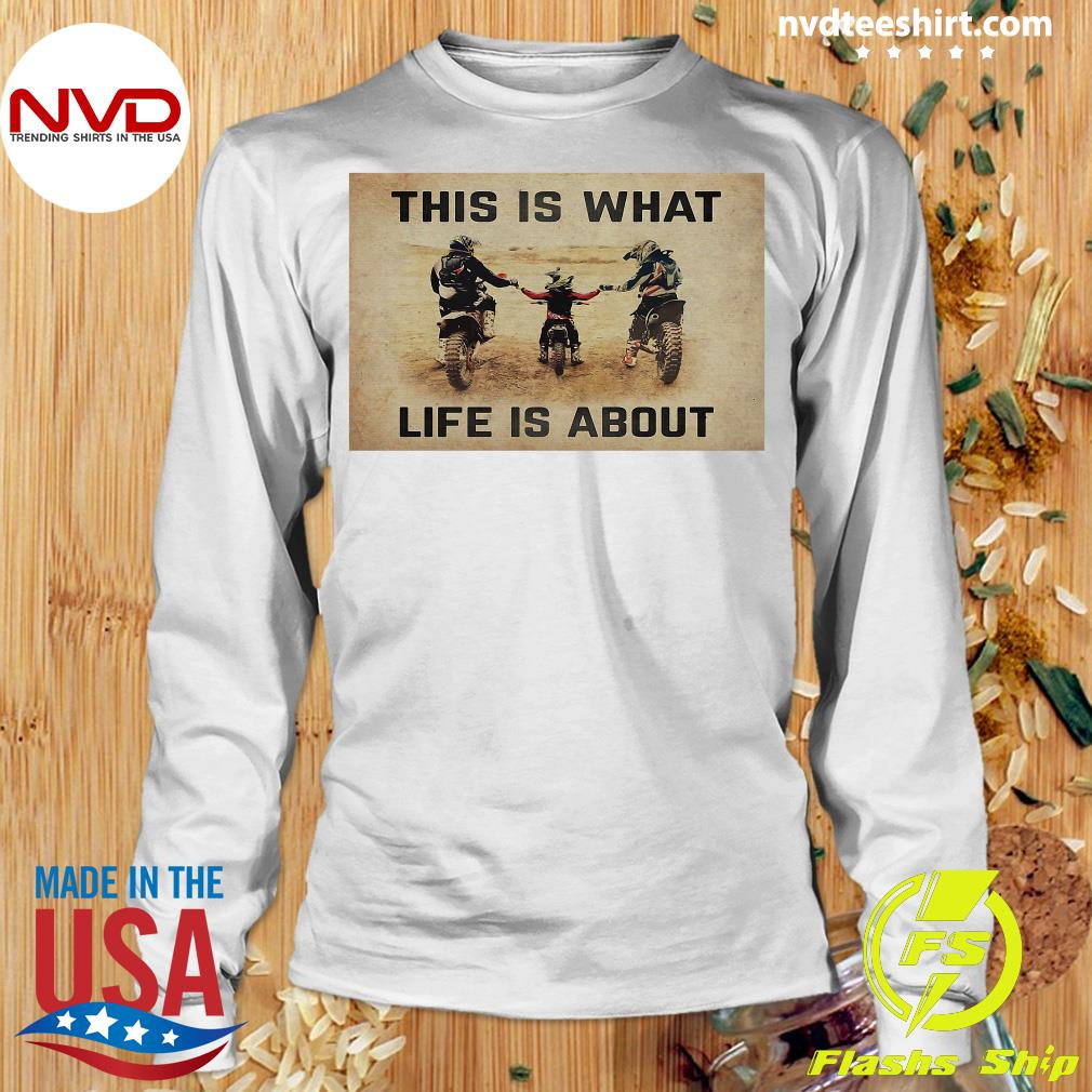 Official This Is What Life Is About T-s Longsleeve