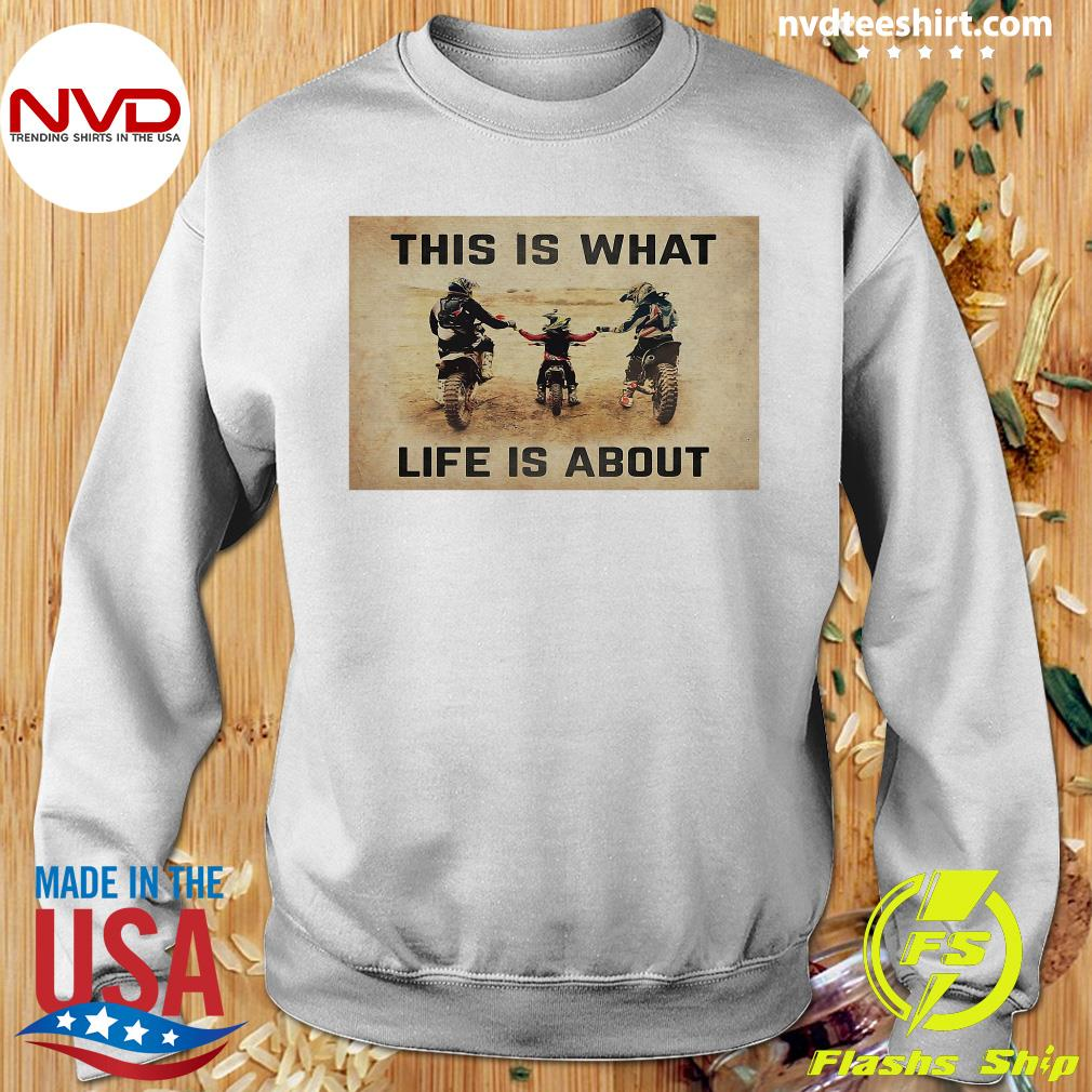 Official This Is What Life Is About T-s Sweater
