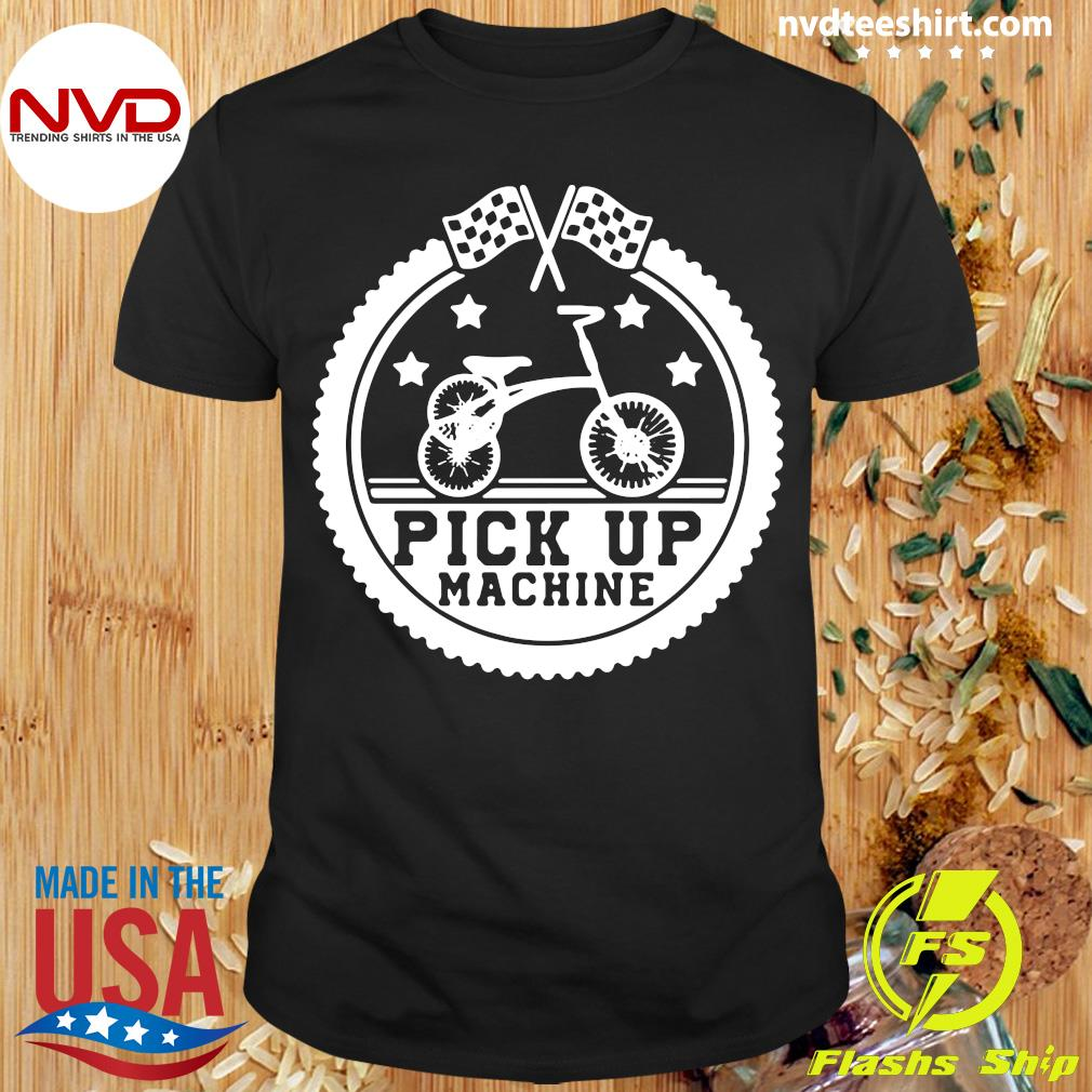Official Tricycle Flag Race Bicycle Cycling Cyclist Bike Trike T-shirt