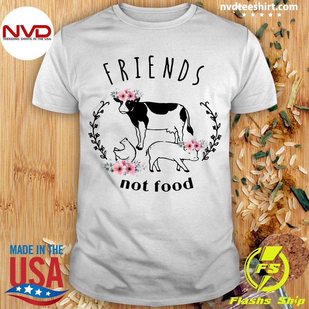 Official Vegan Friends not Food T-shirt