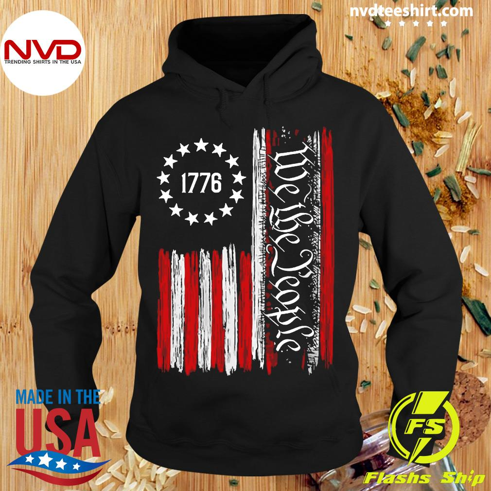 Official We The People Betsy Ross Flag 1776 T-s Hoodie
