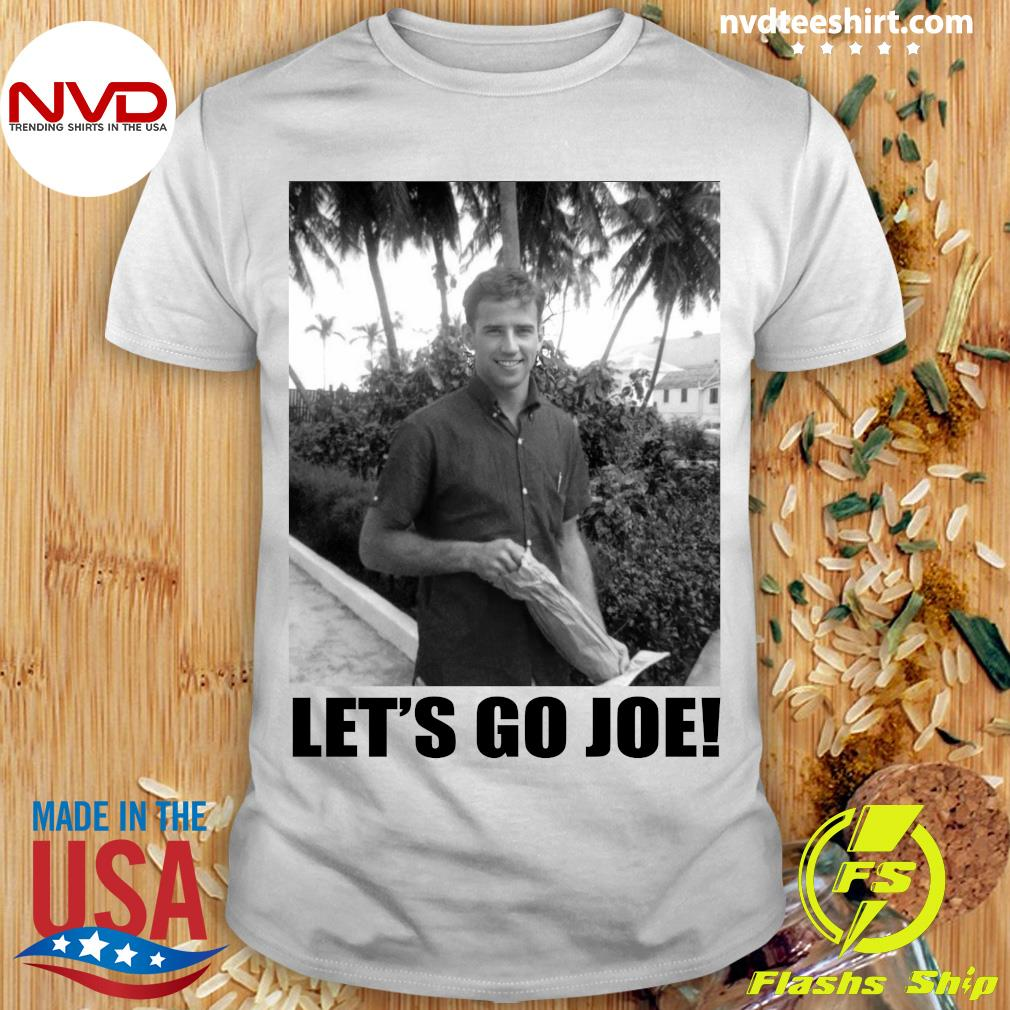 Official Young Joe Biden Let's Go Joe T-shirt